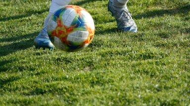Jalgpall. (Foto on illustratiivne)