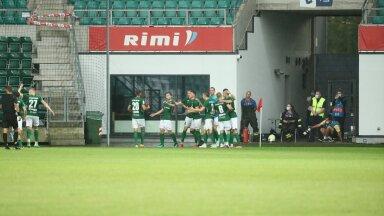 FC Flora sai Rauno Sappineni väravate toel 2:0 võidu.