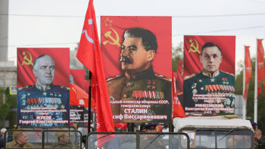 """""""Surematu polk"""" võidupühal Volgogradis"""