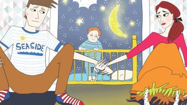 Su beebi ei maga hästi ja nutab? Tee nii ja terve pere saab jälle magada!