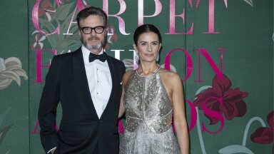 ABIELU PURUNES Colin Firth ja Livia Giuggioli.