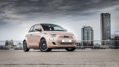 Esimene täiselektriline Fiat jõudis Eestisse, läbisõit 320 km