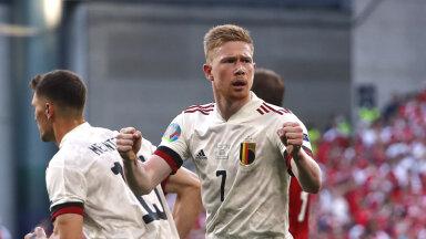 """BLOGI   """"Kadunud pojad"""" väljakule vahetanud Belgia kombineeris kaks suurepärast väravat ja alistas Taani 2:1"""