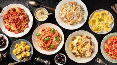 Pasta päästab päeva! 10 pastaretsepti, mis sobivad kiireks lõunaks või mõnusaks õhtusöögiks — kõhu saab igatahes korralikult täis!