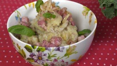 Kартофельное пюре с ячменной крупой (мульгипудер)