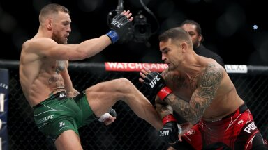 ВИДЕО | Макгрегор проиграл Порье в главном бою на UFC 264