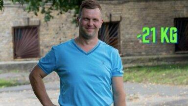 Проверяем: самую популярную диету в Эстонии пробует Петер с 21 лишним кг