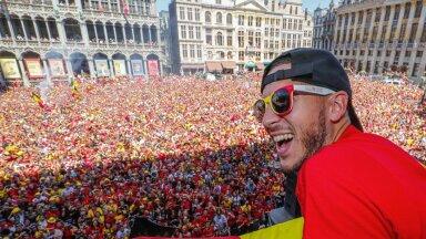 2018. aastal MM-pronksi saanud Belgia koondisele korraldati Brüsselis uhke vastuvõtt. Toona Belgia koondise mänguline liider olnud Eden Hazard on praeguseks oma tasemes aga tugevasti järele andnud.