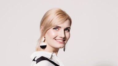 Mari-Liis Helvik, Anne & Stiili peatoimetaja | Foto: Anu Hammer | Jumestus: M.A.C Cosmetics | Stiil: Kelly Kipper (pluus Guess, kõrvarõngad Mango)