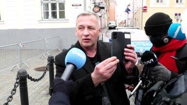 VIDEO | Kalle Grünthal jagas politseiga Toompeal maid ja uuris, kes on kehtestanud piirangud