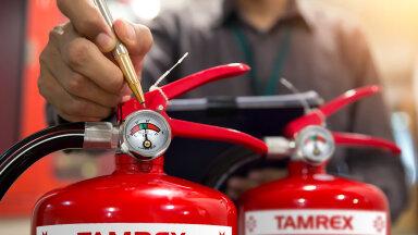 Kas sinu tulekustuti on töökorras?