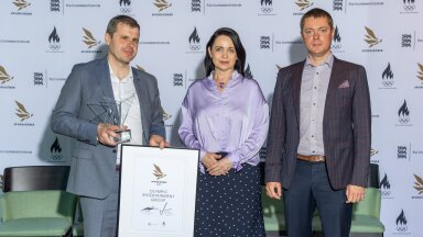 OlyBet pälvis kultuuriministeeriumi ja EOK aunimetuse spordisõber 2021