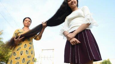После неудачной стрижки девочка решила больше никогда не ходить к парикмахерам. Теперь у нее самые длинные волосы в мире