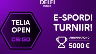 Telia Open CS:GO liiga eelturniirid on jõudnud poole peale