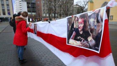 Meeleavaldus Valgevene opositsiooni toetuseks Tallinnas