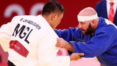 ГАЛЕРЕЯ   Эстонец Григорий Минашкин проиграл монголу и выбыл с Олимпиады