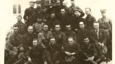 II MS. Hävituspataljoni kogunemine Tapal. Juuli 1941.