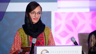 Afganistani esimene naissoost linnapea Zarifa Ghafari: nad tulevad ja tapavad mu