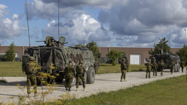 Эстонские военные завершили подготовку к зарубежной миссии в Мали