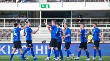 Eesti jalgpallikoondis on juunis hästi esinenud. Järjepanu alistati Leedu ja Soome. Nüüd mängitakse Lätiga Balti turniiri võidu peale.