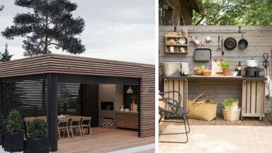 ФОТО | Хит сезона может быть и у вас во дворе! 12 идей для создания летней кухни