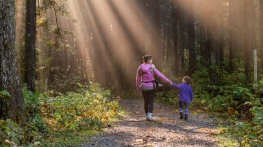 Lapsed on kodus olemisest väsinud ja sa ise ka? Kevadine metsaseiklus rõõmustab tervet pere