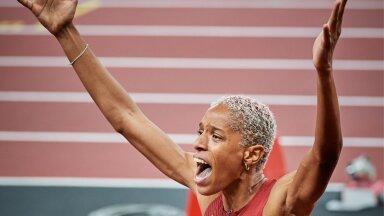 Lesbiaktivist Yulimar Rojas võitis kolmikhüppes kulla võimsa maailmarekordiga.