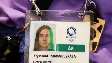 Kristina Tsimanovskaja sunniti olümpialt lahkuma.