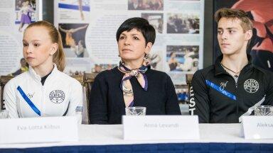 Ева-Лотта Киибус, Анна Леванди и Александр Селевко (слева направо)