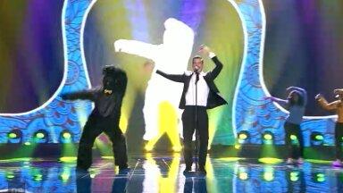 Itaalia tõi Eurovisionile ahvi