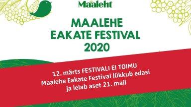 Maalehe Eakate Festival lükkub edasi