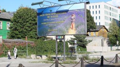 FOTOD | Mehed, võtke õppust! Järjekordne romantik avaldas Repinski stiilis armastust hiigelreklaamiga