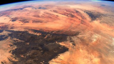 Maa kosmosest pildistatuna (foto: ESA / NASA, Thomas Pesquet)