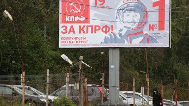 Kommunistliku partei valimisplakat Irkutskis