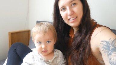 Väike Aurora ja tema emme Laura