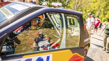 Sebastien Loeb Mont-Blanci rallil.