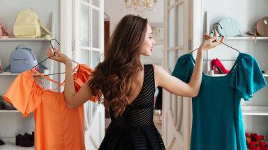 Kevad on sobiv aeg teha inventuur riidekapis