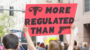 Protestija Texase tänavatel
