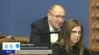 VIDEO   Kas riigikogulasele kohane? Mart Helme lausus justiitsminister Maris Laurile: istu, kaks!
