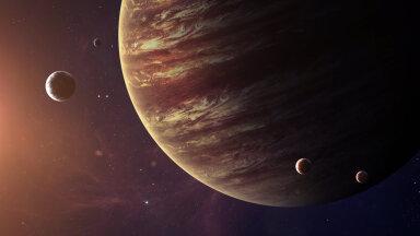 Ülikuum rauaaurune Ekso-Jupiter tiirutab kummuli