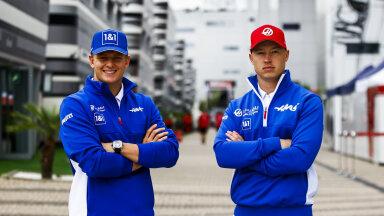 Mick Schumacher ja Nikita Mazepin.