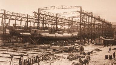 Allveelaevade ehitus Noblessneri (Peetri) laevatehases.