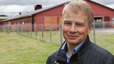 Kõrge piimatoodangu taga on loomade hea pidamine, söötmine ja aretus, kinnitab tõuloomakasvatajate ühistu juht Tanel Bulitko.