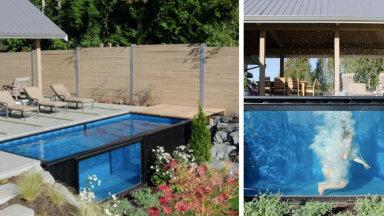 FOTOD JA VIDEO | Merekonteinerist saab aeda ägeda basseini!