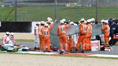 ВИДЕО | Во время Гран-при Италии погиб 19-летний мотогонщик