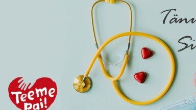 Juba üle 2000 annetaja. Õdede ja hooldustöötajate tänamiseks mõeldud PAI algatus ületas maagilise 500 000 euro piiri