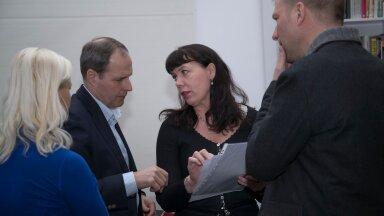 Tallinna Sadama arendusosakonna juhataja Hele-Mai Metsal (keskel) on olnud vesinikuteemaga lähemalt seotud eelmise aasta kevadest, kui mitu Lääne-Euroopa sadamat tegid ettevõttele koostööettepaneku.