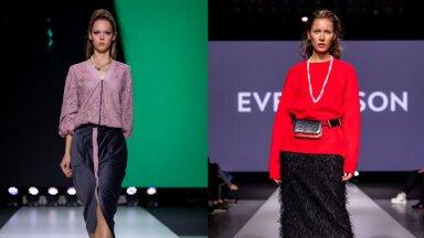 MOEVIDEO | Naiselik ja šikk! Hooaja kõige aktuaalsem seelikupikkus jätab põlved varju