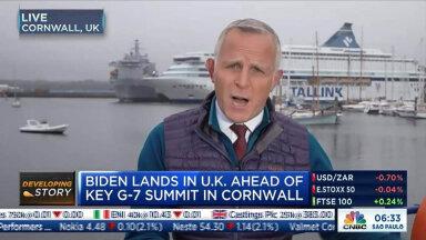 Kuidas Tallink G7 kohtumise ajal maailma telekanalite taustale sattus? Laevafirmal oli tippkohtumisel ülioluline roll