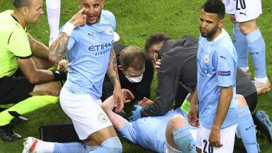 Manchester City kaptenil tuvastati ninaluumurd ja silmakoopas mõra, EM-il osalemine veel lahtine
